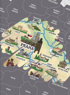 Stírací mapa - České republiky   Bestdarky.cz