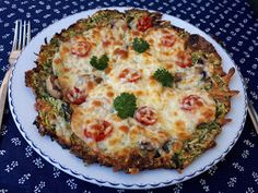 """V kuchyni """"Obyčejné ženy"""": Cuketová pizza... Pizza, Lidl, Mozzarella, Quiche, Breakfast, Food, Morning Coffee, Essen, Quiches"""