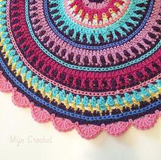 All Colours Mandala – Mijo Crochet