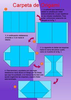 Carpeta y caja de Origami, herramientas útiles - Tutoriales de Oficio en Otros | Dibujando