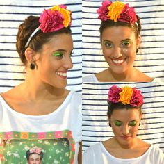 Ainda não acabouO Carnavallll #fridakhalo #carnaval #Carnaval2016 #amor #love #lindo #acessoriosdecabelo www.soufloracessorios.com.br