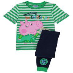 Boys Peppa Pig George Pig Dinosaur Pyjamas #georgepig #peppapig