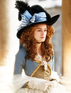 The Duchess (2008) with Keira Knightley as Georgiana, duchess of Devonshire #CostumeDesign by Michael O'Connor.