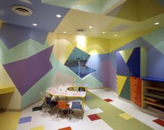 The Architecture of Early Childhood: A visually interesting fit-out for a day-care centre in New York that aids children's development