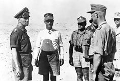 [Photo] Erwin Rommel at a staff conference in the Western Desert, North Africa…