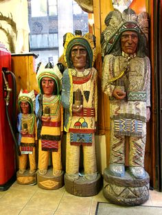 """""""Cigar Store Indians"""""""