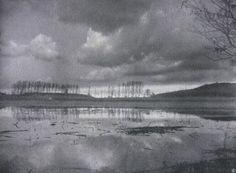 Die Kunst in der Photographie : 1907 Photographer: Wilhelm Bandelow Title: Überschwemmung