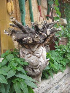 . Garden Sculpture, Outdoor Decor, Home Decor, Decoration Home, Room Decor, Home Interior Design, Home Decoration, Interior Design