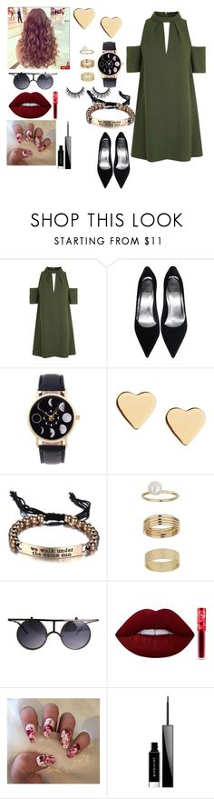 """date at the movies"" by crazibunniz on Polyvore featuring Topshop, Lipsy, Miss Selfridge, Lime Crime and Givenchy"