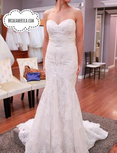 Great Wedding Dress at Bridal and Veil in San Diego California