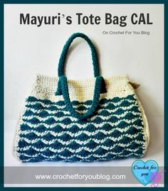Free crochet pattern: Mayuri's Tote Bag CAL by Crochet For You