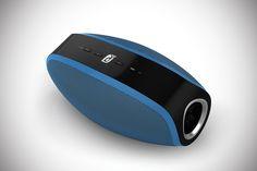 Damson Oyster Wireless Speaker - blue