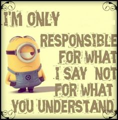 My responsibility and your responsibility