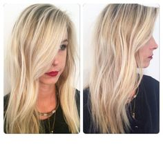 """Kelsey Chlopecka (@kelseychlopeckahair) of Adore Hair Studio of Inman Park, Atlanta, Georgia, was there to help out her client using balayage, her specialty. This new client came to Chlopecka (a referral) looking to brighten up her blonde. """"She wanted something to POP,"""" says Chlopecka who points out that blonde hair """"tends to get to a point where there is no more dimension or 'shadow'. When all the hair is the same color, it loses brightness, no matter how blonde it is. Most of the time…"""