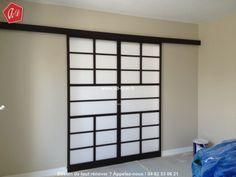 1000 id es sur pose porte coulissante sur pinterest for Decoration porte japonaise