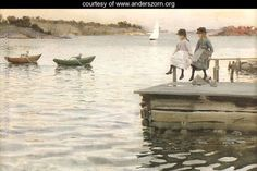 Boat Race - Anders Zorn - www.anderszorn.org