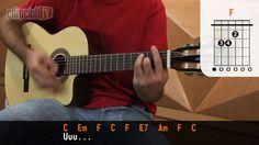 Somewhere Over The Rainbow - Israel Kamakawiwo'ole (aula de violão simplificada)