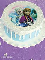 Frozen Sisters Drip Cake