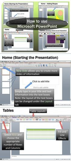 This lesson includes instructions along with screen shots and text bubbles to demonstrate how easy it is to create presentations using Microsoft PowerPoint.