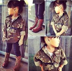 Little people have the best clothes ever .