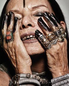 """elhieroglyph: """" Michele Lamy for Interview Magazine """""""
