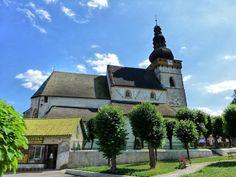 Gothic Evangelical Church Stitnik, Košice region, Slovakia