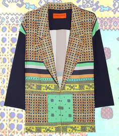 Printed crepe de chine by Clover Canyon, available @NET-A-PORTER.COM.