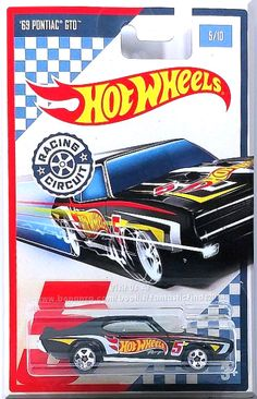 Flat Black, w/Chrome interior, Blue windows, Red, Yellow & White 'Hot Wheels Racing' Graphics on the Sides, Hood & Trunk which include a Hot Wheels Logo, Stripes and a # 5, Dark Gray Thailand base, w/Chr5SP's. Only $7.09 with Free Shipping!