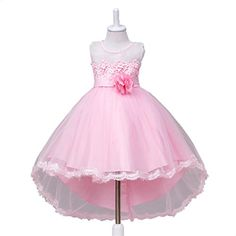 Kids Showtime Flower Girls Tailing DressPink56Y ** Find out more about the great product at the image link.