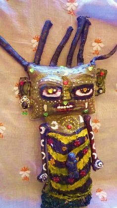 Tribal Art Doll Series WIP