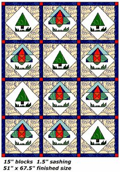 Free Tee Shirt Quilt Layouts for different size quilt tops - how to make T-shirt quilts