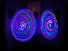 LED hula hoops.
