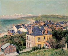 Gustave Caillebotte (French, 1848-1894). Villers-sur-Mer, 1880. Oil on canvas. 60 x 73 cm (23 5/8 x 28 3/4 in.). Private Collection, Photo © Greg Staley, 2006