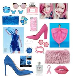 """""""Blue pink"""" by diana16blackwood on Polyvore featuring мода, Nine West, Not Just a Pump, Kate Spade, Mr & Mrs Italy, Edie Parker, Aéropostale, Ippolita, Christian Dior и Lime Crime"""