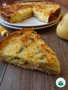 Potato gateau - Gateau di patate - ricetta tipica con patate