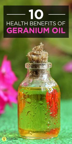 Geranium oil has various fabulous health benefits. Its use is being recognised more and more in medical science. Here is a list just for you.