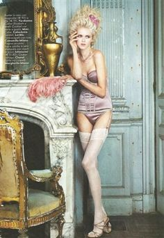 Vogue spread - lingerie love <3