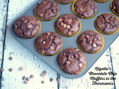 Makes 12 These are muffins in minutes! It actually takes me longer to walk to the shop than to make these little babies! Perfect results every time! If you haven't got a Thermomix, you can fi…