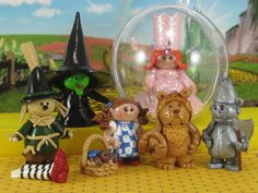 Wicked Witch of the West in Wizard of Oz fairy garden OOAK