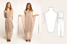 Indie, Darling: Best Wrap Dress Patterns – Helen's Closet It's about time for another pattern roundup post! I love bringing all the indie pattern options for a certain garment type or style together so I can evaluate my options thoroughly. Fashion Sewing, Diy Fashion, Ideias Fashion, Dress Fashion, Dress Sewing Patterns, Clothing Patterns, Wrap Dress Patterns, Apron Patterns, Pattern Dress