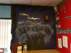 Shakespeare Macbeth classroom display