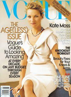 Birkin & Cappuccino: Vogue Covers: Kate Moss!