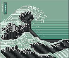 ざっぶ~~~ん。 the wave