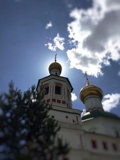 Надвратная #церковь Толгской иконы Божией Матери, выстроена в 1733 году г.#Москва