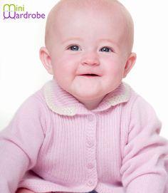 Babatude Baby Pink Pure Cashmere Dark Coat £120.00