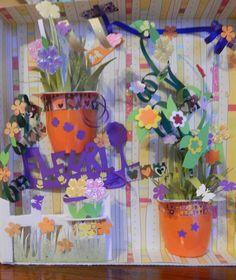 les fleurs poussent... même en papier !!