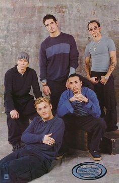 Backstreet Boys Straight Up 1999 Group Portrait Poster Vintage Music Posters, Boy Celebrities, Celebs, Group Poses, Nick Carter, Backstreet Boys, Sabrina Carpenter, Spice Girls, 90s Kids
