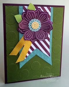 Stampin' Up! Bloom for You Card Elaine's Creations
