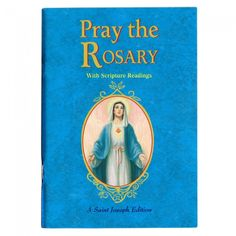 Buy the popular Catholic Book 'Pray the Rosary' with a great context for praying the Mysteries of the Blessed Mother and Jesus, her Son! Praying The Rosary, Holy Rosary, Books To Read Online, Reading Online, Rosary Novena, Short Devotions, Catholic Books, Catholic Store, Catholic Prayers