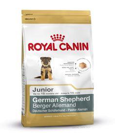 GERMAN SHEPHERD JUNIOR wurde speziell für Deutsche #Schäferhund - #Welpen bis zum 15. Monat entwickelt. Hochverdauliche L.I.P.-Proteine als Beitrag für eine gesunde Darmfunktion. Auswahl spezieller Fasern zur Begrenzung der Gärungsprozesse im Darm bei gleichzeitigem Erhalt einer ausgeglichenen Darmflora. http://www.royal-canin.de/hund/produkte/im-fachhandel/nahrung-fuer-rassehunde/heranwachsende-rassehunde/german-shepherd-junior/